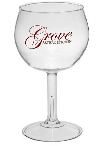 18 5 Oz Large Plastic Red Wine Glasses Aag100