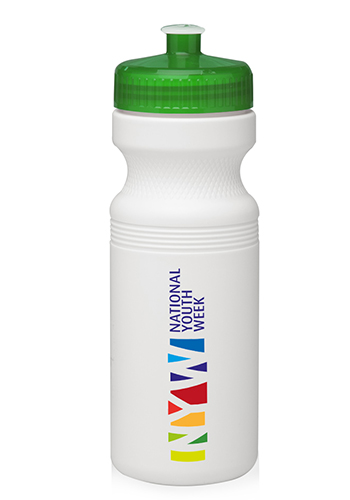 White Bike Water Bottles
