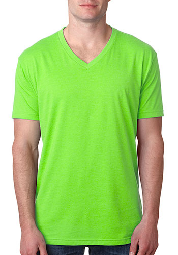 Printed Next Level Mens Cvc V Neck T Shirts Nl6240