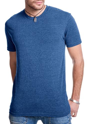 Printed next level mens tri blend crew t shirts nl6010 Next level printed shirts