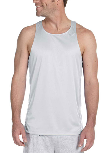 44261de9d25fe Printed New Balance Mens Running Singlet Tank Tops | NB9138 ...