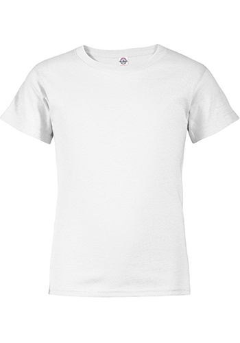 065156b0df Delta Apparel Youth Pro Weight Tees | 11736