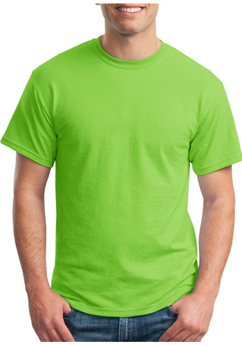 5 6 oz 50 50 cotton polyester moisture wicking shirts ag8000 for Poly blend t shirts wholesale