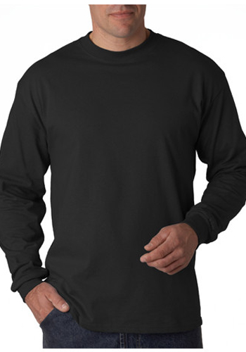 d673cb82cf0840 Printed Hanes Tagless Beefy-T Long Sleeve T-shirts | 5186 - DiscountMugs