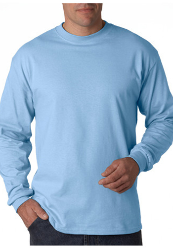Printed Hanes Tagless Beefy-T Long Sleeve T-shirts | 5186 ...