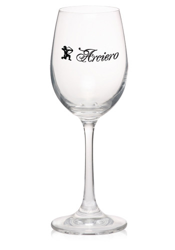 7.5 oz. Lead Free Crystal Etched Wine Glasses