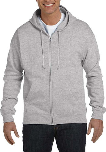 51ce82274 Customized 7.8 oz 50/50% Cotton/Polyester. Hanes ComfortBlend Eco Smart  Full-Zip Hoodies ...