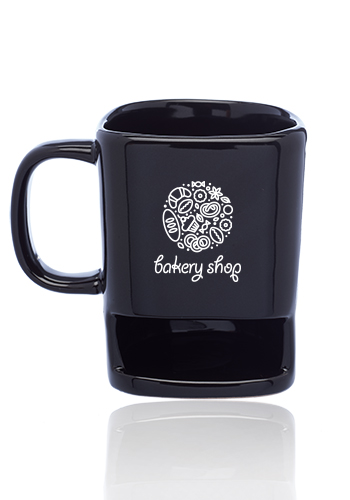 7 oz. Poppy Cookie Holder Mugs | CM8009
