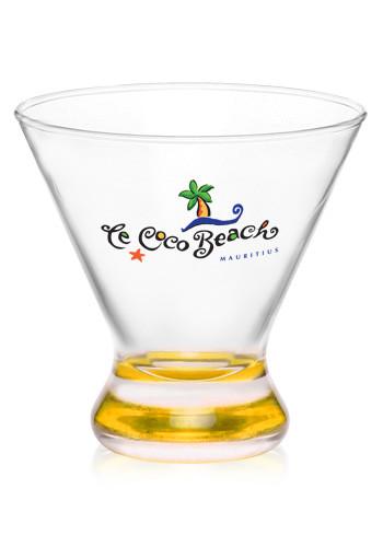 yellow - Stemless Martini Glasses