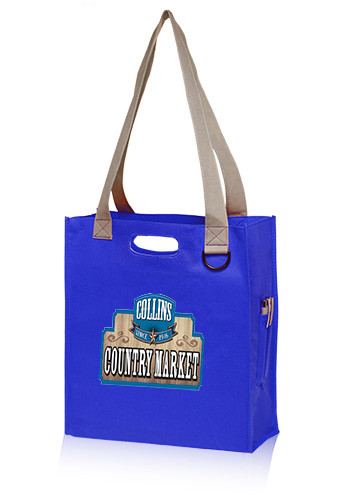 TOT128 Dual Handle Wholesale Non-Woven Tote Bags