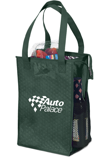 6be2598e1 Personalized Super Snack Insulated Tote Bags | BMCVAC914 - DiscountMugs