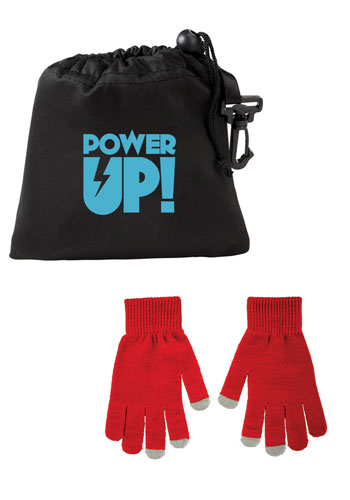 Wholesale Touchscreen Gloves with Pouch