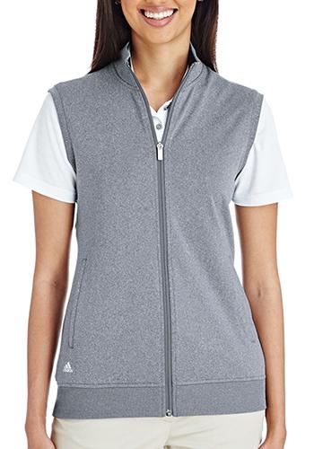 Adidas Golf Ladies Full Zip Club Vests | AOA272