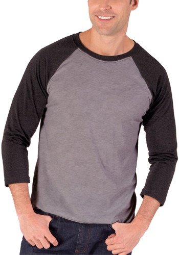 Quarter Sleeve Baseball Crew Neck Shirts
