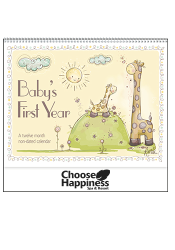 Promotional Baby's First Year by Robin Roderick Triumph Calendars