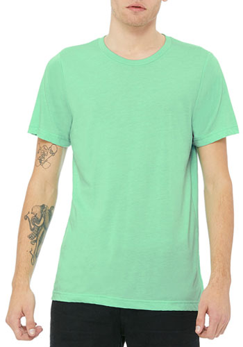 380e17a8 Custom 3.8 oz 50 Polyester/ 25 Airlume Combed and Ring-spun Cotton/ 25