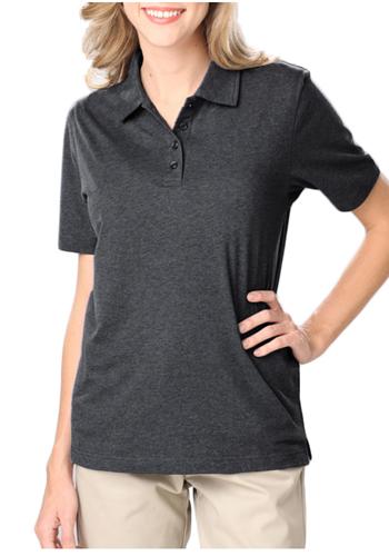 Design your own t-shirt bella - Bulk Blue Generation Ladies Heather Polo Shirts