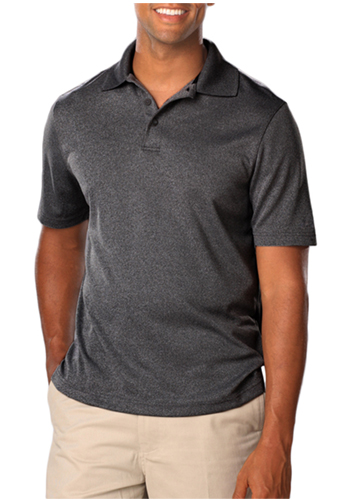 Promotional Blue Generation Mens Heather Polo Shirts