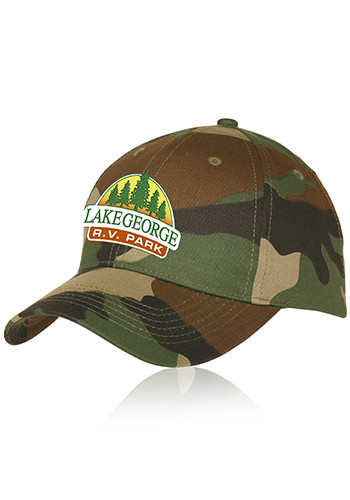 Wholesale Camouflage Cotton Caps