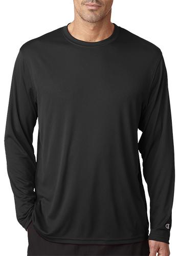 Adult Double Dry Long Sleeve Interlock T Shirts