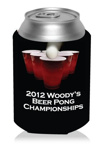 Beer Pong Can Cooler