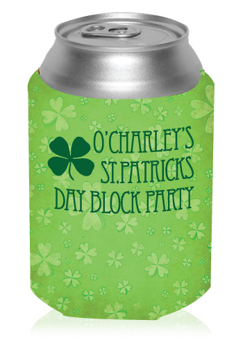 St. Patrick's Can Coolers