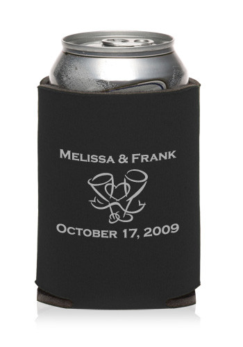 personalized collapsible wedding can cooler kzw19