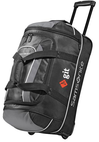 Samsonite Andante 22 In Wheeled Duffle Bags Gl95018