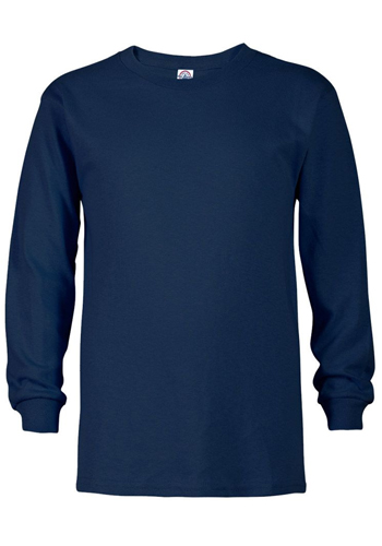 Youth Pro Weight Long Sleeve Tees