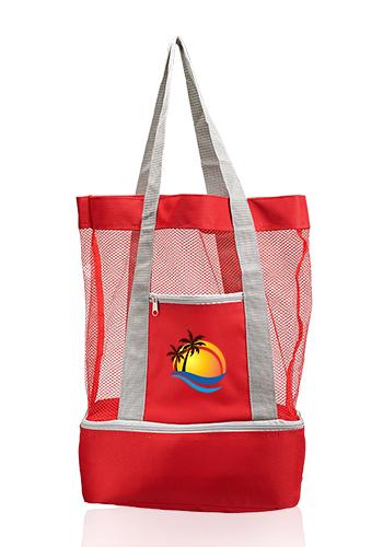Mesh Cooler Tote Bags