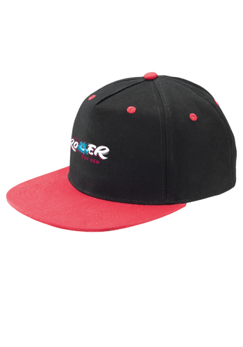 Custom Two Tone Flat Bill Snapback Caps  7df7a52df7b9