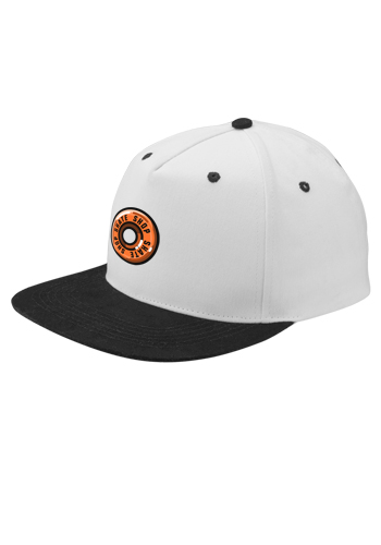 Two Tone Flat Bill Snapback Caps