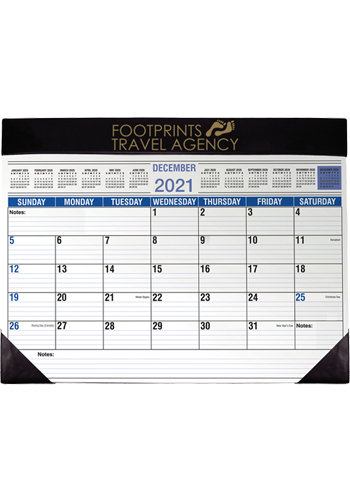 Personalized Full Size Desk Planners