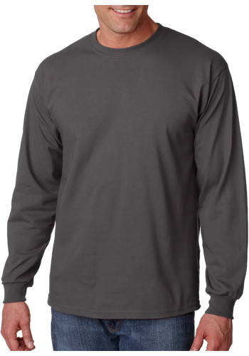 8f2ec583 Printed Gildan Ultra Cotton Long Sleeve T-shirts | G2400 - DiscountMugs