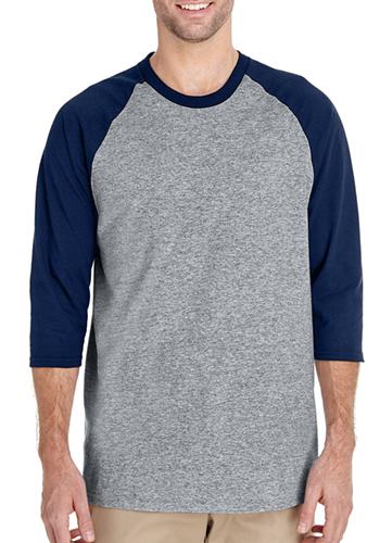 11adcfffc1 Customized Gildan Adult Heavy Cotton 5.3 oz Raglan Sleeve T-Shirts