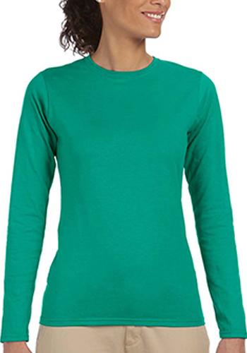 81cd73d6 Gildan Junior Fit Long Sleeve T-Shirts   64400L As low as $5.74 Buy Now >