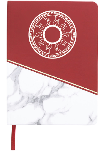 3 Home Decor Trends For Spring Brittany Stager: Custom Good Value Classic Marble Journals