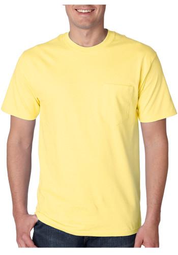 hanes yellow t shirt