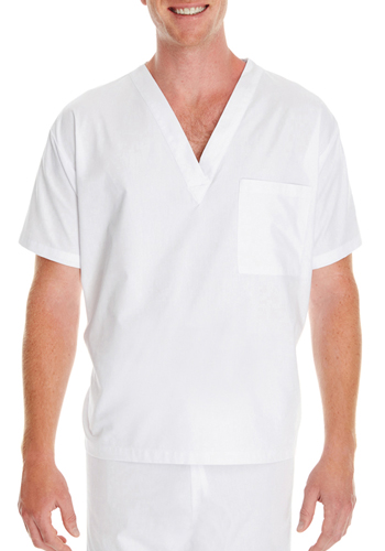 Harriton Customized Adult Restore 4.9 oz. Scrub Tops | M897
