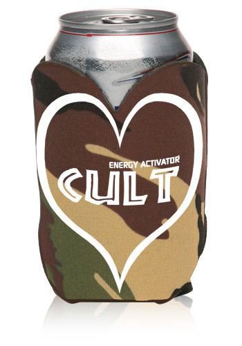 Customized Heart Shape Can Coolers