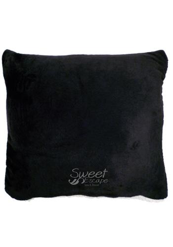 Personalized Lambswool Microsherpa Throw & Pillows APFLBP7000 - DiscountMugs