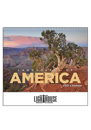 Custom Landscapes of America English - Spiral Calendars