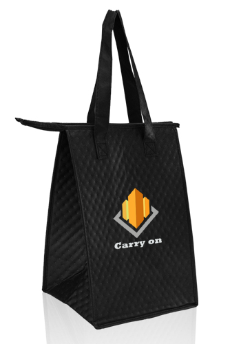 Zipper Insulated Lunch Tote Bags Tot244