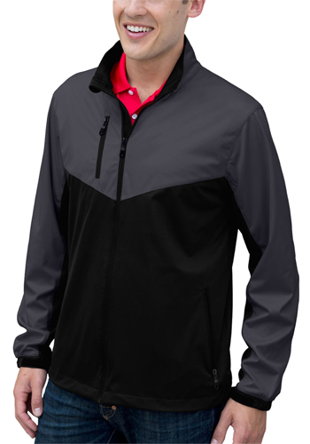 Personalized Mens Air-Block Softshell Jackets
