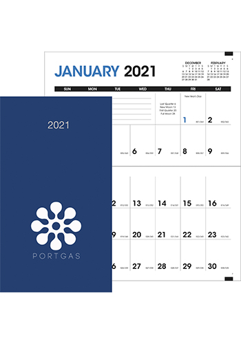 Customized Monthly Pocket Planner Calendars