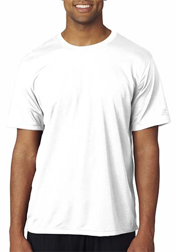 4e4e174376a62 Printed New Balance Mens Ndurance Athletic T-Shirts | N7118 ...