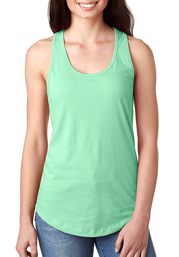 Customized Next Level Womens Ideal Racerback Tank Tops