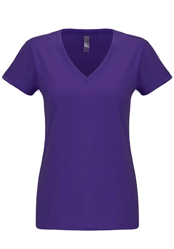 Womens Sueded V-Neck Tees