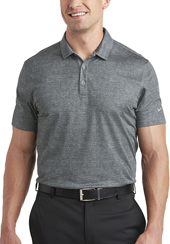 Personalized Nike Dri FIT Crosshatch Polos