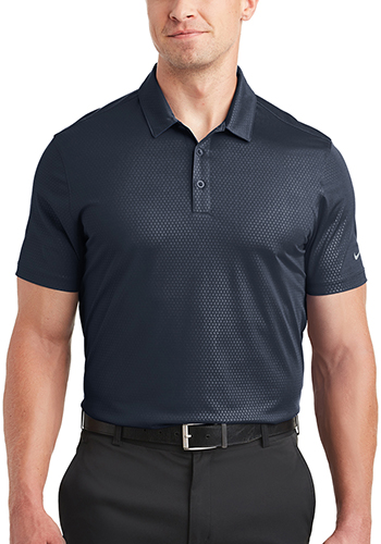 Customized Nike Dri FIT Embossed Tri Blade Polos